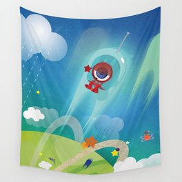 The Eyez - Astronaut Wall Tapestry