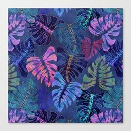 Phoenix Tropical Blue Canvas Print