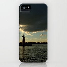 Lake Michigan in Wisconsin iPhone Case