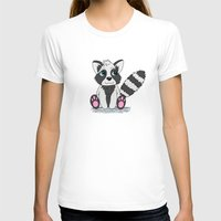 racoon T-shirts featuring Racoon by BlackBlizzard