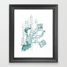 Extra Extra Extra Framed Art Print