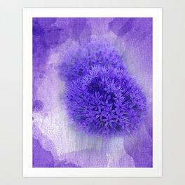 dreaming lilac -7- Art Print