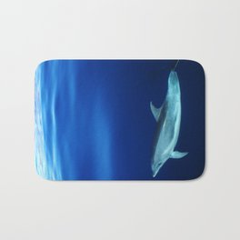 Dolphin and blues Bath Mat