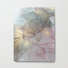 Smoky Quartz II Metal Print