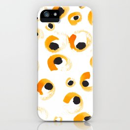 Leopard spots iPhone Case