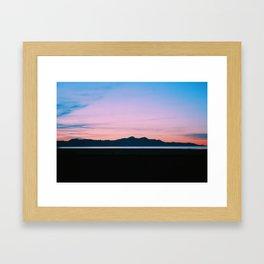 Mountain Salt Framed Art Print