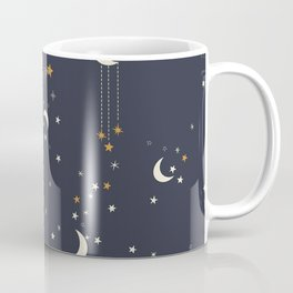 The moon and stars Coffee Mug