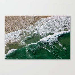 Riding high amongst the waves II Canvas Print
