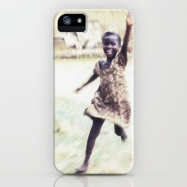 Swaying and Swaggering Across the Sahara  iPhone Case