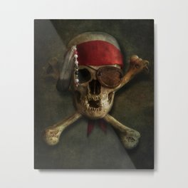 Once a pirate Metal Print