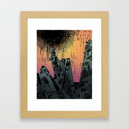 Eveningscape Framed Art Print