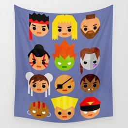 Street Fighter 2 Mini Wall Tapestry