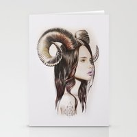 into the wild Stationery Cards featuring Wild by Amelia Souva
