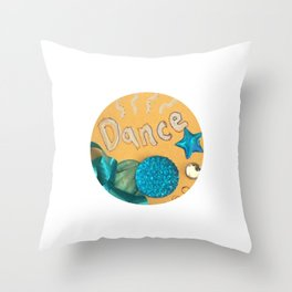 Dance Charm Throw Pillow