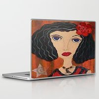 gypsy Laptop & iPad Skins featuring GYPSY by Knittingandthings