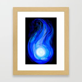 Burning Soul Framed Art Print