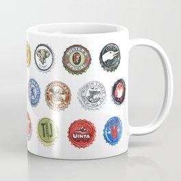 Bottlecaps A to Z Coffee Mug