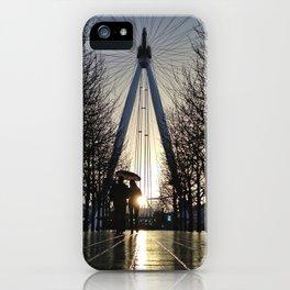 London Eye Sunset iPhone Case