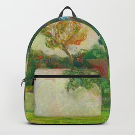 "Paul Gauguin ""Deux vaches au pré (Two Cows in the Meadow)"" Backpack"