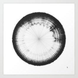 Sound of Saturn's Rings Art Print