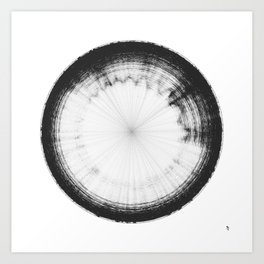 Sound of Saturn's Rings Art Print