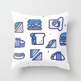Sandwiches Throw Pillow