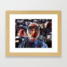 Trump Rally Memories Framed Art Print