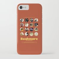 rushmore iPhone & iPod Cases featuring Wes Anderson / Rushmore - The Many Faces of Max Fischer by Isabel