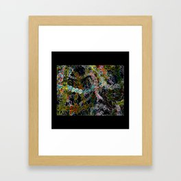 Abstract Beads Framed Art Print