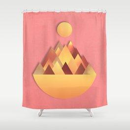 Hot Peaks Alternative Shower Curtain