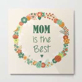 Happy Mothers' Day Metal Print