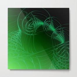 fractal design -307- Metal Print