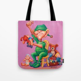 Elf Karl - Fluffy Animals & Dolls Department Tote Bag