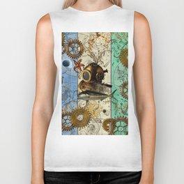 Nautical Steampunk Biker Tank
