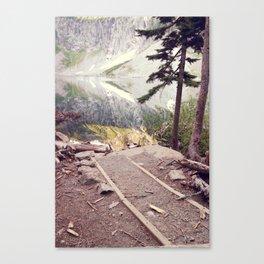 Lake Serene Canvas Print
