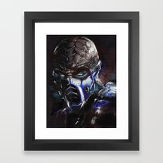 Deep Freeze Framed Art Print