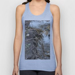 Creek post flooding in k-country Unisex Tank Top