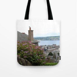 House on a Hilltop Tote Bag