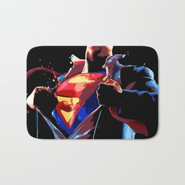Superman - Secret Identity Bath Mat