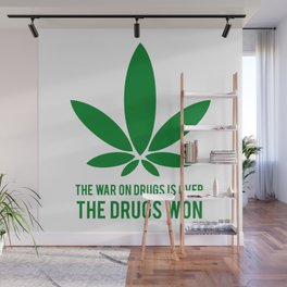 The Drugs Won (1) Wall Mural