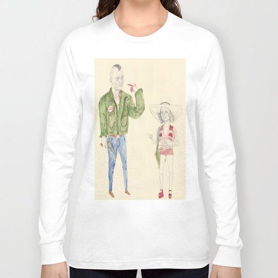 Travis Bickle and Iris Long Sleeve T-shirt