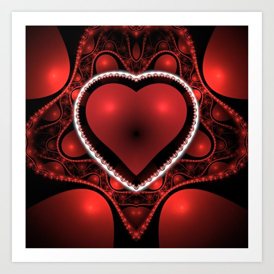 Valentine's Day is Coming! Art Print