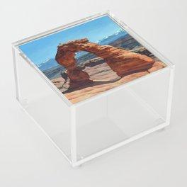 delicate arch Acrylic Box