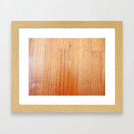 Wood 1 Framed Art Print