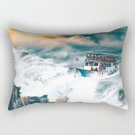 Rising Seas Rectangular Pillow