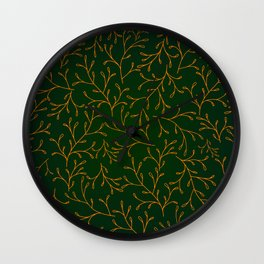 FOREST GREEN Wall Clock