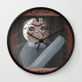 Summer Lives Forever Wall Clock