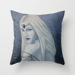 Snow Witch Throw Pillow