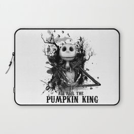 All Hail the Pumpkin King Laptop Sleeve