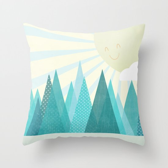 Winter's Over Throw Pillow